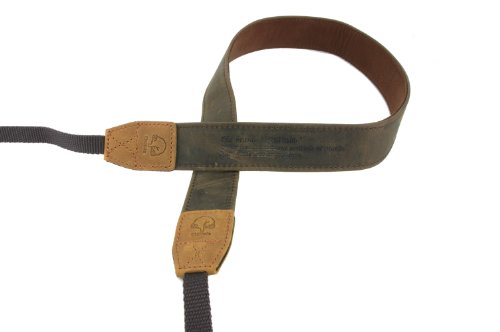 EtsHaim ネックストラップ Vintage-30 ミラーレス 一眼レフ用 ブラウン 本革 M-7541