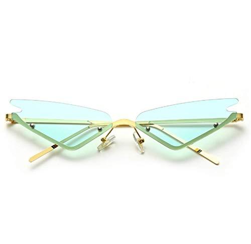 DREZEA, occhiali da sole da donna con occhio di gatto, stile retrò, a punta stretta