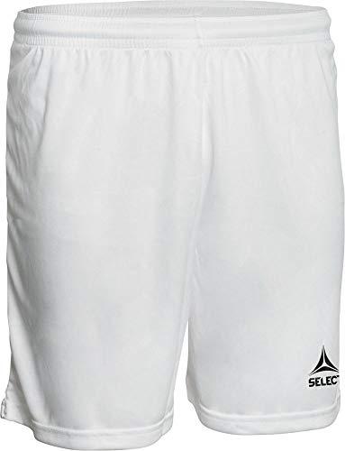 SELECT Pisa Shorts, Pantaloncini Unisex-Adulto, Bianco, S