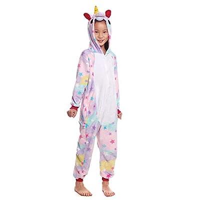 Pijama Unicornio Star Niña (5-6 años) (+ Tallas) Carnaval Unicornios