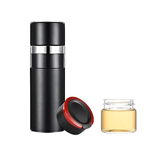 Yaunli Thermos kopjes Dubbelwandige Vacuüm Geïsoleerde Reizen Koffie Mok, RVS Flask, Outdoor Sport Waterfles, 420ml thermoskan kopjes reizen