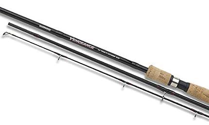 Shimano Vengeance AX Trout Zander, 3.60 meter, 5-40 gramm, 3 Secciones, Caña de Pescar Trucha y Zander, VAXTRZ360