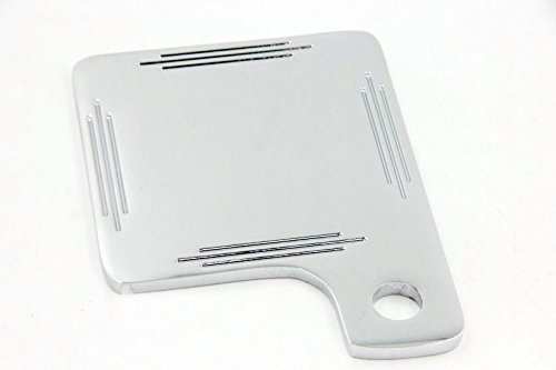 Universal Motorcycle Inspection Tag Sticker Renewal License Plate Chrome by TTMT