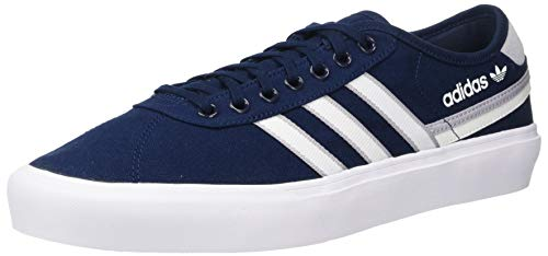 adidas Originals Unisex Delpala Sneaker, Navy/White/Glory Grey, 11 US Men