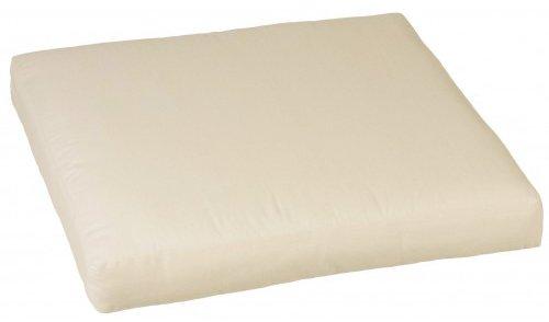 Loungekissen für Rattan Gartengruppen ca. 80 x 80 cm in beige 100% Baumwolle von beo