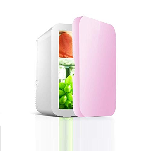 Nevera Combi Mini Refrigerador Mini Refrigerador De 8L, Hogar Para Automóvil, Refrigerador De Doble Uso, Dormitorio, Cosméticos, Refrigeración, Mantenimiento Fresco, Calefacción B