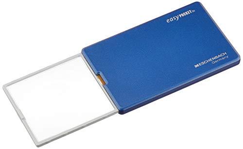 ESCHENBACH カード型 ルーペ LEDライト イージーポケット インテリジェンスブルー 倍率3倍 1521-100