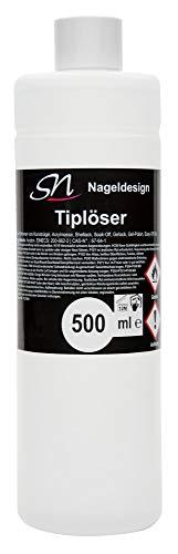 Tiplöser Remover für Tips, Gellack Schellack Easy off Gel Entferner (1 x 500 ml)