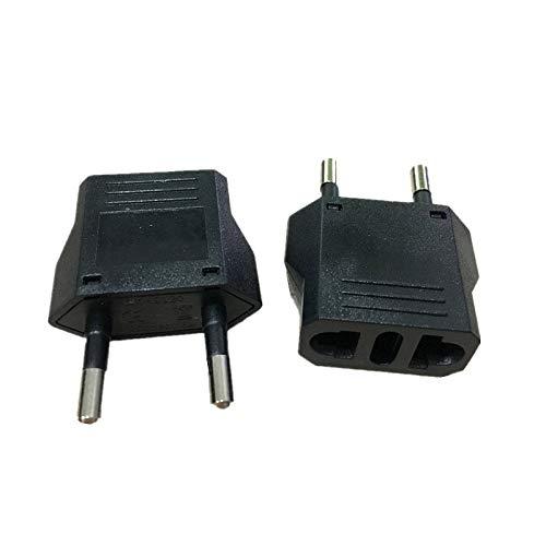 EU European Germany KR Plug Adapter Brazil US to EU Euro European Travel Power Plug AC Adapters Outlet Converter Electric Socket