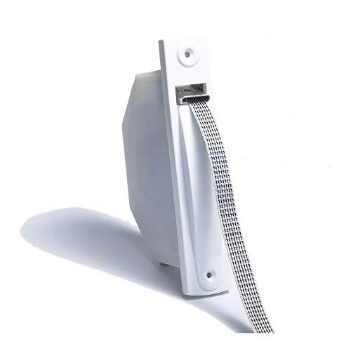 41113 Recogedor minipack blanco con cinta de 18 mm