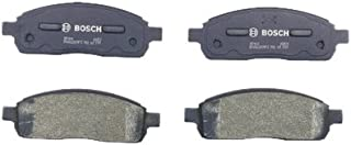 Bosch BP1011 QuietCast Premium Semi-Metallic Disc Brake Pad Set For 2004-2008 Ford F-150; 2006-2008 Lincoln Mark LT; Front