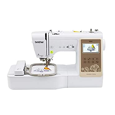 Brother RSE625 Computerized Sewing and 4x4 Embroidery Machine, White (Renewed)