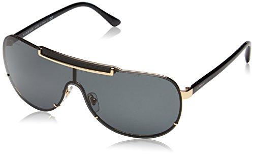 Versace Sonnenbrille VE2140100287-40 Groß Sonnenbrille 140, Schwarz
