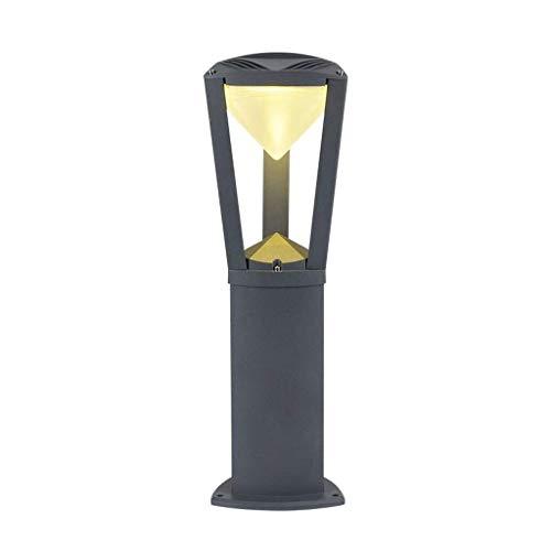 XYZMDJ LED spaarlamp, milieuvriendelijke kolom licht Villa gazonlicht straatlantaarn creatieve lantaarnpalen deurlicht