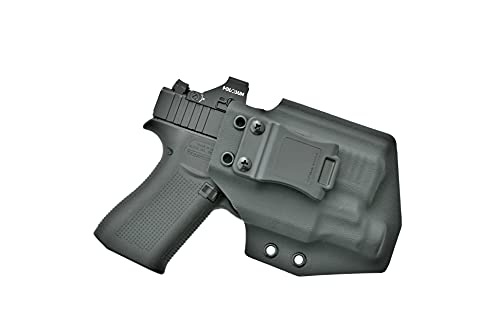 IWB Kydex Holster for Glock 43X MOS with TLR-7 SUB | Inside The Waistband Holster Compatible with Glock 43X MOS with Streamlight TLR-7 SUB