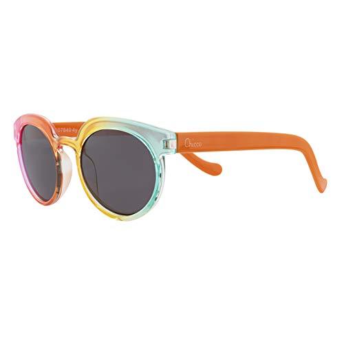 Chicco - Gafas de Sol Infantiles Para Niños De 4 años, Con Montura flexible y Lentes Anti Arañazos, Color Arcoiris