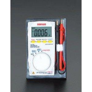エスコ ポケットデジタルテスター EA707D-24