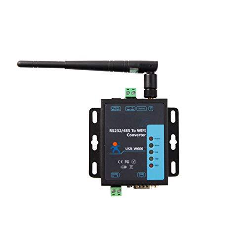 USR-W600 Serial RS232 RS485 rentable a WiFi Convertidor Servidor inalámbrico 3 STA Conexiones Servidor Web Incorporado/página Web para configuración