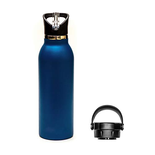 Simple Modern 24oz Classic Tumbler with Flip and Straw Lid Vacuum Insulated Water Flask Travel Coffee Tumbler 18//8 Stainless Steel NCAA Tennessee