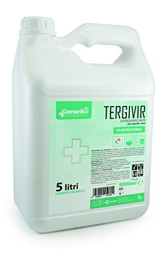 TERGIVIR detersanificante virucida per pavimenti - Tanica 5 Litri