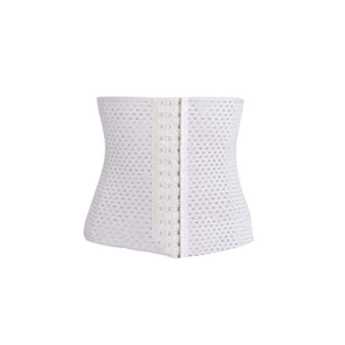Faja reductora de cintura alta para mujer, adelgazante, para moldear el abdomen, cintura alta, entrenador plano, adelgazante, moldeador para mujeres, cuerpo beige, L
