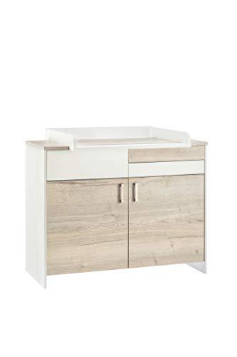 Schardt 05 950 28 00 Clou Oak Commode avec dispositif à langer, beige
