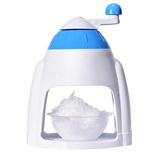 SMEJS Manuelle Haushalt Eismaschine Schneeflocke-EIS-Hobel Ice Crusher Slush-Maschine Ice Grinder