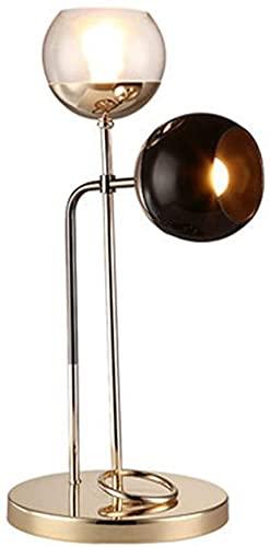 FHUA Lámpara Escritorio Trabajo de Hierro Forjado Moderno y Simple, lámpara para Aprender a Leer y Aprender/lámpara de Mesa Retro con Personalidad Creativa