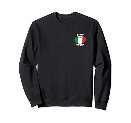 Italien-Rugbyball-Flagge - italienische Rugby-Fans Sweatshirt