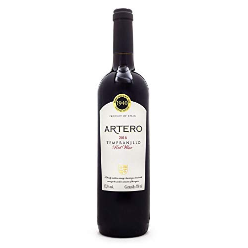 Bodegas Artero - Vino Tinto Tempranillo Rotwein 75 cl.