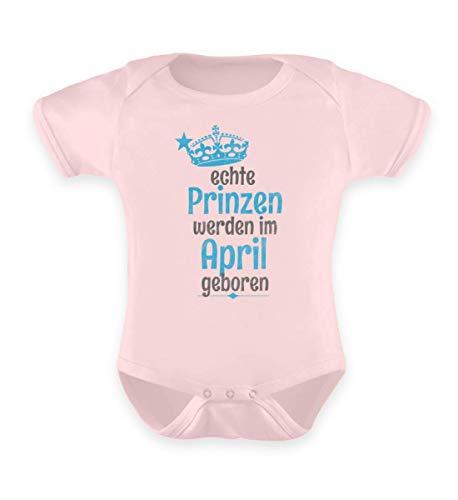 Shirtee Echte Prinzen - April Baby Baby Body