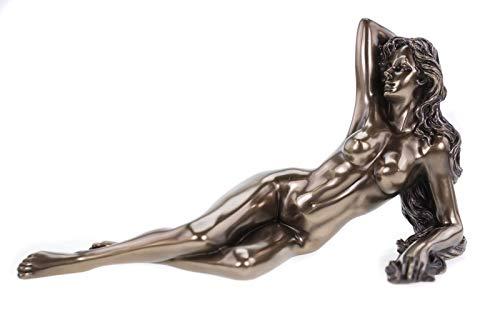 Veronese 708-7430 Weiblicher Akt \' Verführung \' Frau erotisch Erotik nackt Figur Skulptur