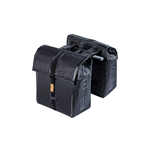 Basil Urban Dry MIK Doppelgepäcktasche Matt Black, 50 Liter
