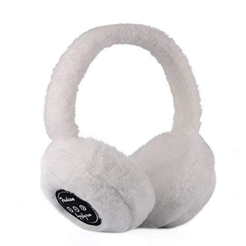 Goutui Bluetooth-Ohrenschützer, warm, Plüsch, kabellos, Musik, Unisex, für Damen und Herren