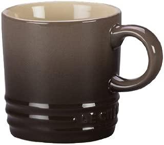 Le Creuset Stoneware Petite Espresso Mug, 3.5-Ounce, Truffle