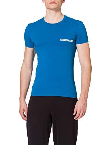 Emporio Armani Underwear T-Shirt The New Icon Camiseta, Primrose, M para Hombre