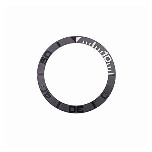 Ver Bezel 38 mm para la reparación de relojero reloj de cerámica de cerámica inserto de bisel para 40 mm reloj de reloj para hombre Diámetro interior de 30,7 mm relojes Bisel Case Reemplazar alta cali