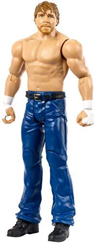 Mattel FMH56 WWE Dean Ambrose 15 cm WrestleMania Figur, Spielzeug Actionfiguren ab 6 Jahren