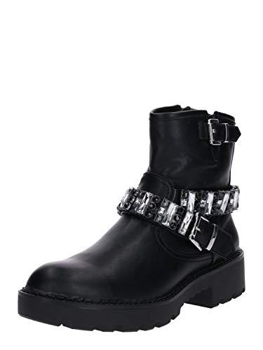 Buffalo Damen Fallon Stiefeletten, Schwarz (Black 001), 37 EU