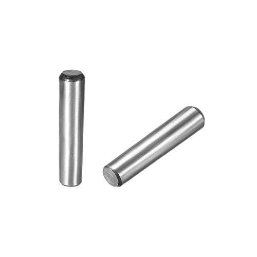 DealMux Carbon Steel GB117 50mm Länge 10mm X 11.1mm Kleiner Enddurchmesser 1:50 Kegelstift 2 Stk