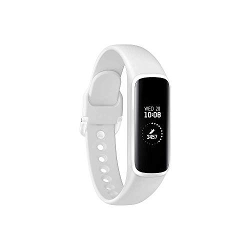 Samsung Galaxy Fit - Rastreador de Actividad, Unisex, Color Blanco, 0,74, versión Francesa