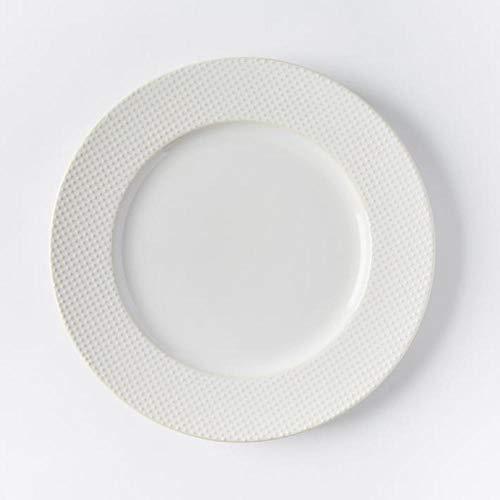 Eettafel reliëf vintage keramische plaat/westerse eetplaat/8 inch 10-inch plaat 8 inch retro deeltjes bestellen plaat (niet perfect)