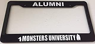 Dark Branches Alumni Monsters University - Very Cute - Black Automotive License Plate Frame - Funny