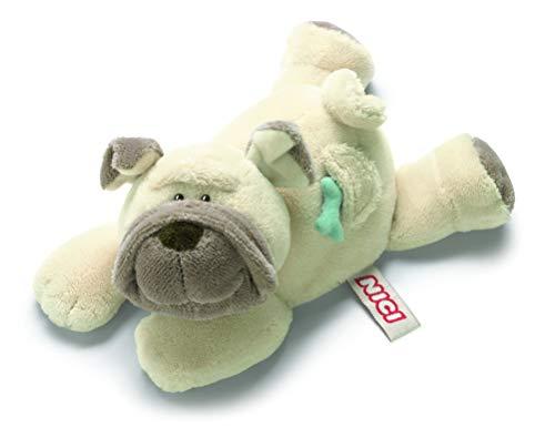 Nici 27584 Hund Mops Plüschtier liegend 22cm