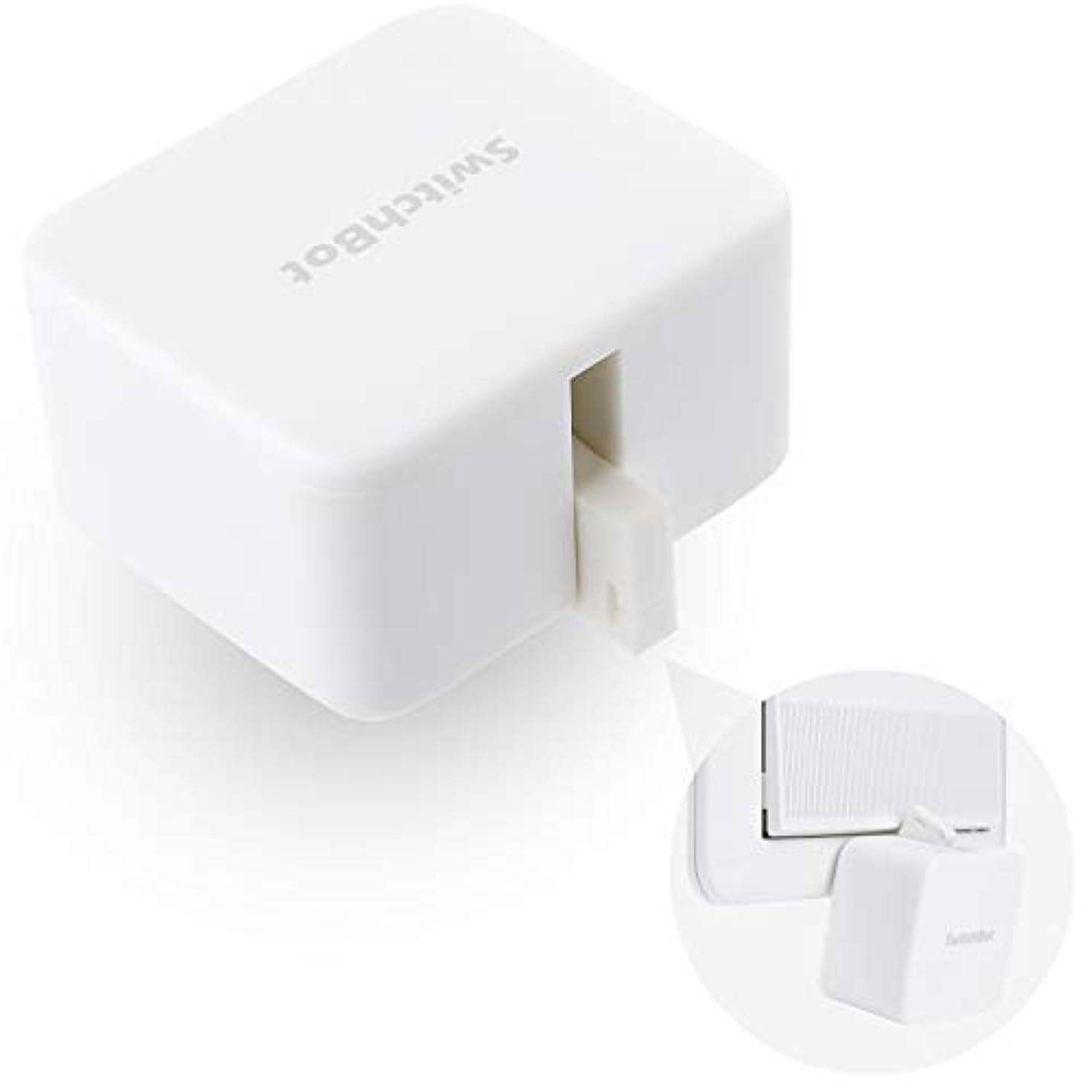 咲く販売員奇跡SwitchBot スイッチボット スイッチ ボタンに適用 指ロボット スマートホーム ワイヤレス タイマー スマホで遠隔操作 Alexa, Google Home, Siri, IFTTTなどに対応(ハブ必要)