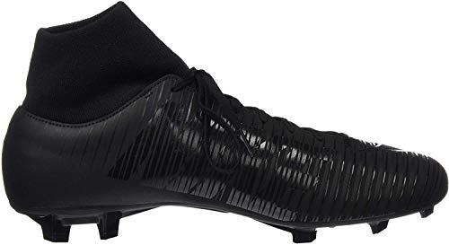 Nike Mercurial Victory VI DF FG, Chaussures de Football Homme, Noir (Black/Black 001), 44.5 EU