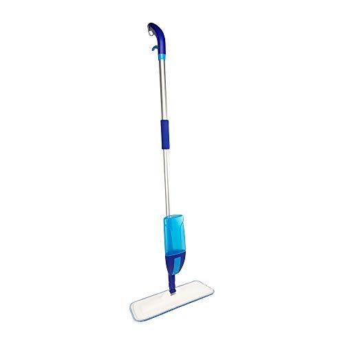 Spray MOP Scopa Lavapavimenti a Spuzzo con Serbatoio XXL 600 Ml Funzione Spray Integrata Panno in Microfibra