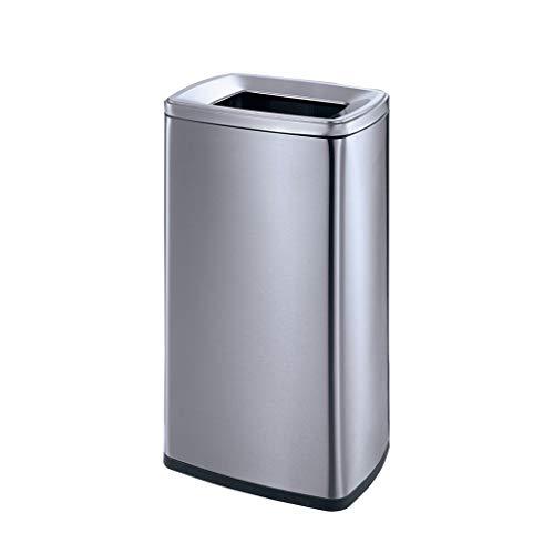 Papelera Reciclaje de residuos Contenedores de compost Piso de acero inoxidable Cubos de basura al aire libre Cáscara grande Cubo de basura Bote de basura Hotel Vestíbulo Ascensor Centro comercial Gal