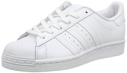 Adidas Originals Superstar J, Zapatillas de Básquetbol, Footwear White/Footwear White/Footwear White, 36 2/3 EU