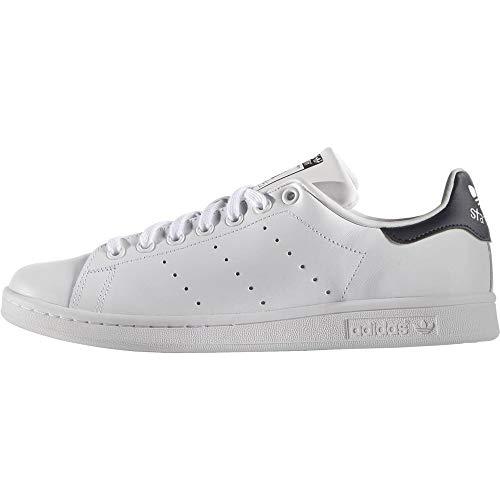 adidas Originals Stan Smith Zapatillas de Deporte Hombre, Blanco...